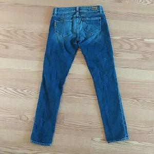PAIGE Jeans - Paige denim skinny jeans skyline ankle peg size 24